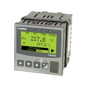 CN2300 2-Kreis-Temperatur/Prozessregler mit Rampen-/Haltefunktion, 96 × 96 mm | CN2300