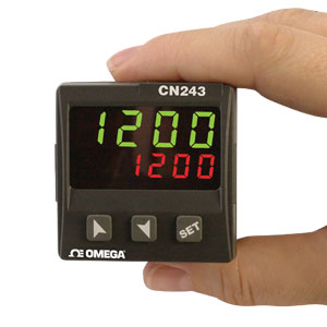 Universeller 48 x 48 mm Temperatur/Prozessregler mit Thermistoreingang | CN243