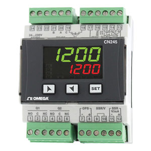 Temperatur/Prozessregler für die DIN-Schienenmontage | OMEGA |