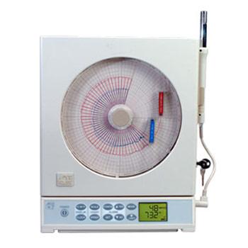 Portabler Kreisblattschreiber für Temperatur/rel. Feuchte | CTXL Superecorder™