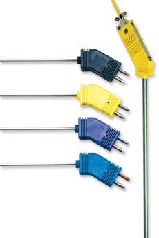 Low Noise Thermocouple Probes With Standard Size Plug   G(*)QIN and G(*)QSS