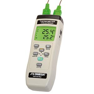 Hand-Thermometer mit Daten-Aufzeichnung für Thermoelemente   HH147AU