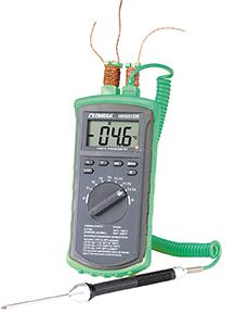 HH501DK Thermoelement-Thermometer mit 4 Eingängen | HH501DK