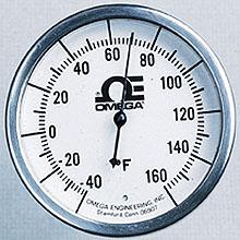All Stainless Steel Bi-Metal Stem Thermometers | HL Series