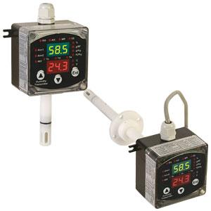 Programmierbarer 2-Draht-Transmitter für relative Feuchte/Temperatur | HX400