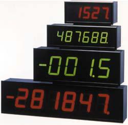 uk availability 77b62 53092 Großanzeigen 4- oder 6-stellig, 60 mm oder 100 Ziffernhöhe