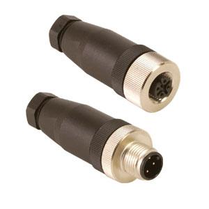 M12-Steckverbinder für Thermoelement Typ K, J, T, E | M12-FM