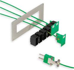 Modell MSS Einbauleiste zur Montage von MPJ Einbaubuchsen für Miniatur-Steckverbinder | MSS