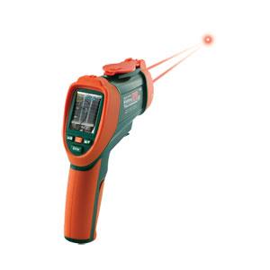 OS-VIR50 Infrarotthermometer mit Doppellaser und eingebauter Video-Kamera | OS-VIR50