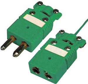 Thermoelement-Steckverbinder mit Kabelschelle für 180°C | OSTW-CC