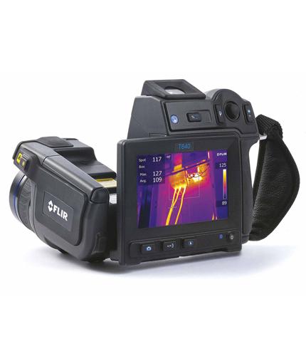 FLIR-T600-Serie Wärmebildkameras mit 4,3