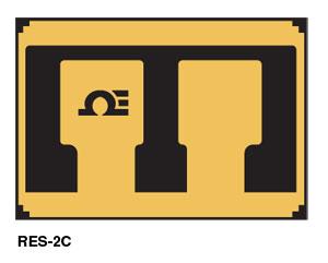 RES-2C, RES-5C, RES-2N, RES-5N Widerstände zur Brücken- und Temperaturkompensation | RES-2C, RES-5C, RES-2N, RES-5N