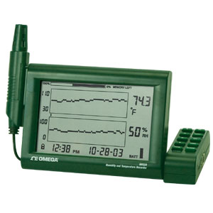 Temperature and Humidity Datalogger recorder | RH520A Series
