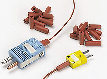OMEGA | Zubehör: Miniatur-Thermoelement-Steckverbinder mit Flachkontakten | SMP-SC, SMPW-CC, SWCL, MSRT, PCLM, SMACL, RMACL, MACL, RB-SMP, MRB, MRBS und BB-SMP