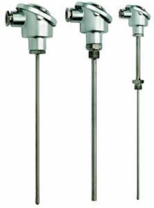 Industrielle Kopf-B-Fühler für Pt100 und Thermoelemente |