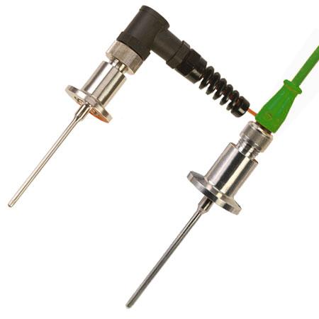 Vakuum-Thermoelementfühler, KF-Flansch mit M12-Steckverbinder | TCV-M12