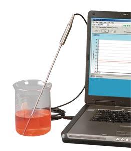 TJ-USB Thermoelementfühler mit Übergangsstelle und USB-Schnittstelle | TJ-USB