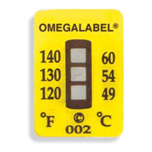 OMEGALABEL Temperaturaufkleber 3 Messpunkte TL-3 | TL-3