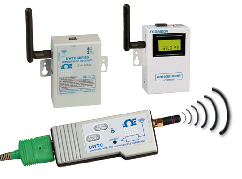 UWTC-Serie Drahtloses Thermoelement-Steckersystem | UWTC-Serie