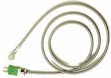 Stahlarmierte Anschraubthermoelemente für hohe mechanische Beanspruchung, Temperaturbereich bis max. 480°C | WT-(*)-HD
