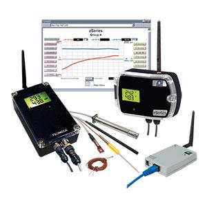 Drahtlose Messumformer für Temperatur, Luftfeuchtigkeit und Luftdruck | zED-P